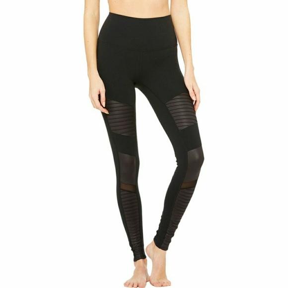 1ae4669370367 ALO Yoga Pants | Highwaist Seamless Moto Legging Black | Poshmark